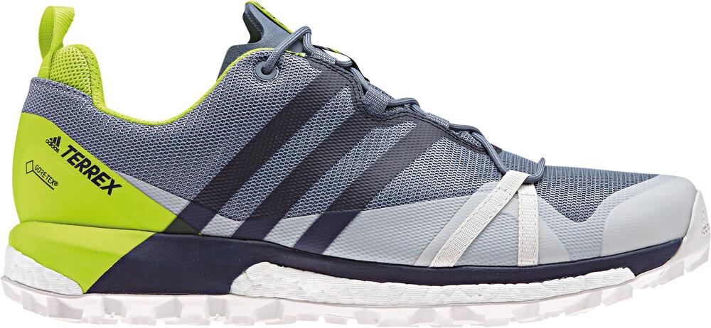 Adidas Terrex Agravic Gtx Chaussures Running Hommes Jaune / Gris 7 He20Fl